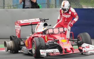 Pirelli confirm debris caused Vettel tyre failure