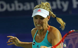 Kerber's number one hopes dashed as in-form Wozniacki makes Dubai final