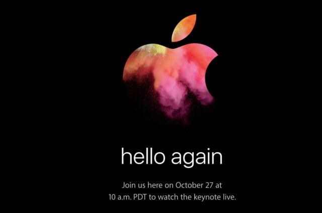 Sigue en directo el evento de Apple y sus nuevos Macbook Pro
