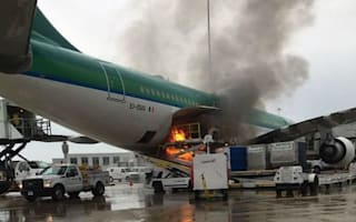 Aer Lingus plane bursts into flames: Two injured