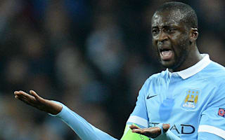 Toure's City future in doubt after Champions League omission
