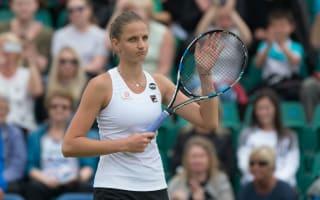 Pliskova and Riske reach Nottingham final