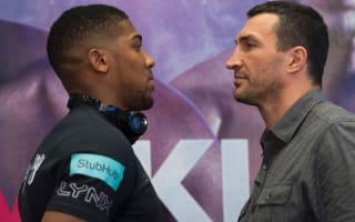 Klitschko denies Joshua mind games