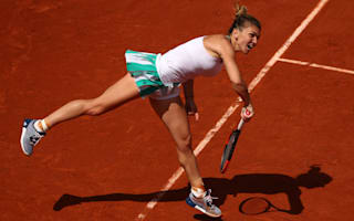 Halep looking on the bright side as she rolls on at Roland Garros