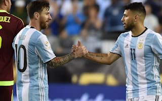 Aguero hails Messi as world's best