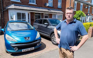 Couple fined for blocking own driveway after burglary