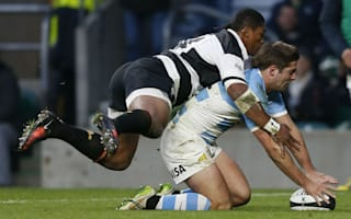 Cordero helps Argentina ease past Barbarians
