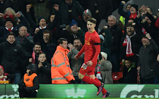 Liverpool 2 Leeds United 0: Origi and record-breaking Woodburn seal semi-final spot