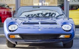 Rod Stewart's Lamborghini Miura up for sale