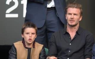 David Beckham: Cruz isn't launching a music career