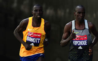 Kipchoge sets course record in second successive London Marathon win