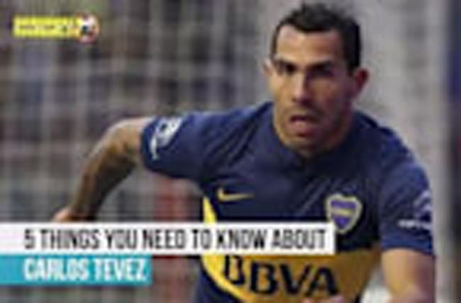 Carlos Tevez - 5 things you need to know