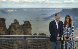 Royals hail breathtaking Australian mountains and say they will return