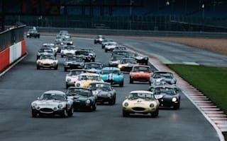 Jaguar Classic Challenge race ends in dramatic fashion