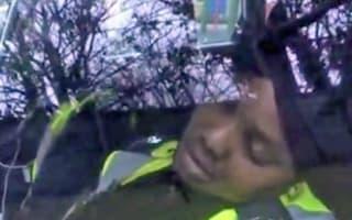 Traffic wardens caught sleeping