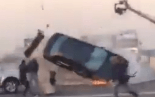 Video: When car stunts go wrong