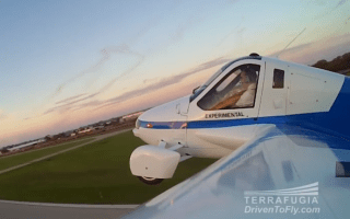 Flying car impresses aviation enthusiasts as it completes maiden flight