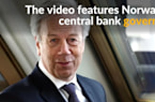Norway's central bank lands viral hit with new money music video