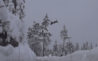 Skiing faceplant caught on video becomes online hit (video)