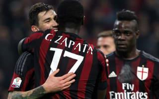 AC Milan 5 Alessandria 0 (6-0 agg): Mihajlovic's men march on to Rome