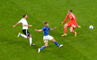 Italy 0 Germany 0: Toothless Azzurri fail to fire with Balotelli watching