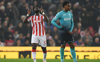 Stoke City 3 Swansea City 1: Bony haunts old club