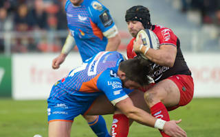 Halfpenny inspires Toulon, 14-man Montpellier win