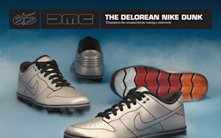 Are you telling me you made shoes...out of a DeLorean?