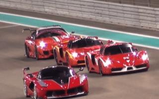 Ferrari FXX K makes track debut