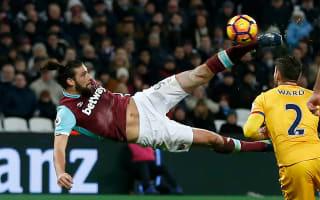 Did Carroll's wondergoal give the West Ham striker whiplash?