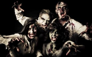 Zombie survival game draws 2,000 people to small Spanish town