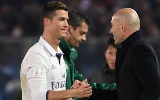 Ronaldo on board with Zidane's rotation policy