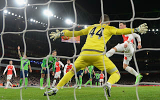 Forster 'robbed' Arsenal, laments Cech