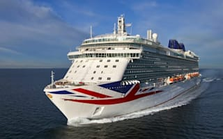 Britain's biggest cruise ship named by the Queen