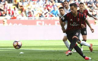 AC Milan 1 Empoli 2: Suso pays the penalty as Rossoneri's European bid takes a hit