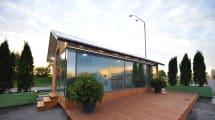 Porque nunca se sabe: esta casa impresa en 3D de PassivDom está hecha 'a prueba de zombis'