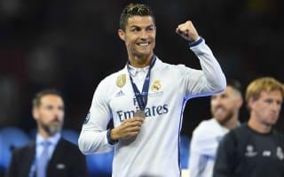 Cristiano sings 'Ronaldo, Ballon d'Or' as Madrid celebrate Champions League triumph