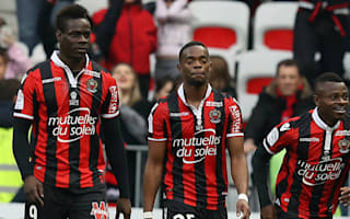 Balotelli on target as Nice return to top of Ligue 1 table