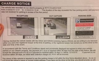 Driver who broke down at service station fined for overstaying