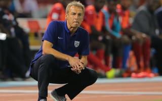 Klinsmann content with USA draw