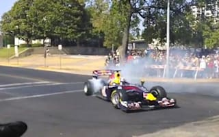 Video: Red Bull takes to Texan streets