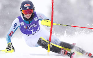 Shiffrin shines as Hansdotter claims slalom globe