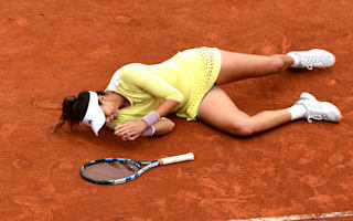 Muguruza lost for words after French Open triumph