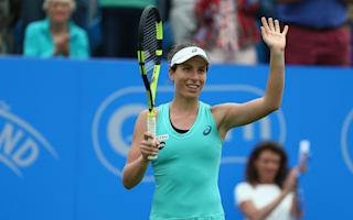 Konta thrilled after serving match-winning bagel to Kvitova