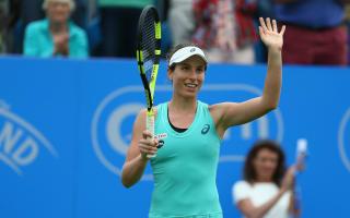 Konta thrilled after serving match-winning bagel to Kvitova