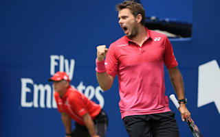 Wawrinka, Nishikori set up semi as Djokovic wins