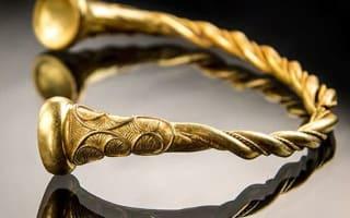 Britain's 'oldest Iron Age gold' found in Staffordshire
