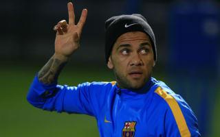 Dani Alves hints at Barcelona exit