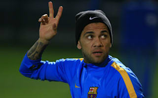 Dani Alves hints at Barcelona exit