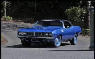 Coveted 1971 Plymouth Hemi 'Cuda fetches £2m at auction